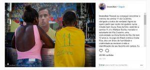 Após foto viralizar, Coutinho responde menino da Vila Cruzeiro que improvisou camisa do Brasil