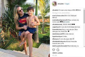 Filho de Cristiano Araújo impressiona fãs por semelhança com cantor